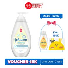 Sữa tắm gội toàn thân mềm mịn Johnson' baby bath Cotton Touch (MỚI) – Dung tích 500ml – 200ml