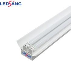 Máng đèn led 1.2m chóa đôi – Máng đèn led 1.2m đôi – Máng đèn có chóa sơn tĩnh điện 1.2m LEDSANG