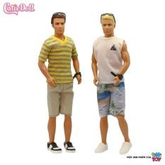 Bộ đồ chơi búp bê thời trang nam cỡ nhỏ tiNiToy (Giao mẫu ngẫu nhiên)