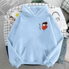 áo hoodie in hình bé ôm bóng