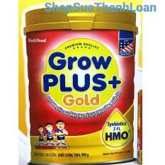 [HSD T4-2022] Sữa bột GrowPlus+ Gold dành cho trẻ suy dinh dưỡng, thấp còi (900g)