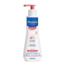 Sữa Tắm Gội Da Rất Nhạy Cảm Mustela Soothing Cleansing Gel 300ml