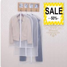 Túi quần áo chống bụi có dây kéo loại Dày size Lớn 100*60