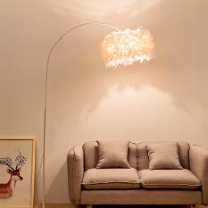 [Tặng 01 bóng LED] Đèn Đứng Trang Trí Nội Thất Phong Cách Tối Giản Minimalism D460 – Đèn Sàn – Đèn Cây Dáng Cong Cần Câu Sang Trọng.