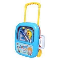ĐỒ CHƠI BÁC SỸ DÙNG PIN CÓ ĐÈN, đồ chơi khám bệnh dùng pin, do choi valy keo bac sy
