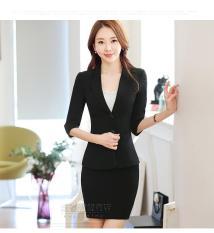 Áo vest nữ tay lỡ cao cấp LC-STORE màu đen AVTLMD006