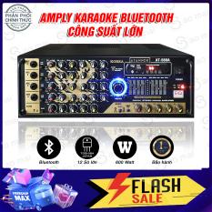 [ Có Quà Tết Cực Lớn ] Ampli Bluetooth Usb , Amply Karaoke Hội Thảo Gia Đình ATANNOII AT-568A 12 sò công suất lớn toshiba japan, dễ phối ghép loa. – Tặng dây av và 2 chống lăn micro.