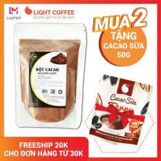 [MUA 2 TẶNG CACAO SỮAÌ] Bột cacao nguyên chất Light Cacao, không pha trộn tạp chất , không đường , đậm đà , 100gr
