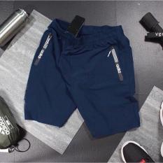 [Freeship] Quần thể thao 2 túi kéo khoá vải thun lạnh dày đẹp 04 màu size từ 40-75kg – QSTT009