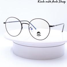 Kính tròn nobita 2626 nhận cắt mắt cận viễn loạn kính thời trang