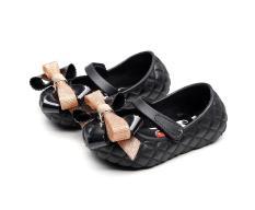 Giày búp bê đính nơ siêu mềm siêu dẻo cho bé gái, giày bệt , giày búp bê trẻ em, giày bít con gái từ 1-5 tuổi