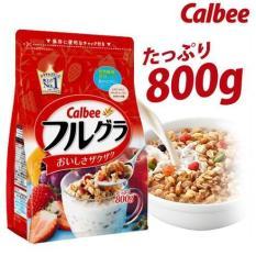 Ngũ cốc Calbee màu đỏ 800g Nhật Bản (HSD T4/2020)