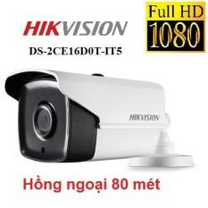 [NHÀ PHÂN PHỐI] Camera HD-TVI Hikvision DS-2CE16D0T-IT5 (2MP), tầm xa hồng ngoại 80m