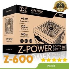 Nguồn máy tính Xigmatek Z-POWER 600 EN45945 – 500w Hiệu suất 80 plus white (Z600)