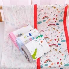 Khăn tắm cho bé 6 lớp, khăn xô tắm sơ sinh có viền, siêu mịn làm chăn đắp cho trẻ sơ sinh