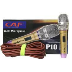 Bộ micro CAF P10 hát hay như ca sĩ