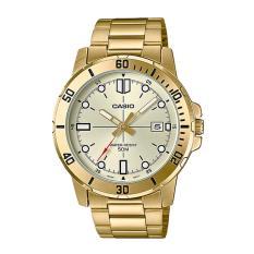 Đồng hồ nam Casio MTP-VD01G-9EVUDF Dây kim loại mạ vàng