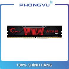 Bộ nhớ/ Ram DDR4 G.Skill Aegis 8GB (2666) F4-2666C19S-8GIS – Bảo hành 36 tháng