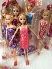 Búp bê baby Khớp mặt xinh, đủ mẫu váy, model:801-1/5,30x15cm, chất liệu nhựa nguyên sinh ABS an toàn tuyệt đối