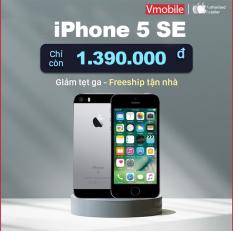Điện thoại iPhone 5 SE Quốc tế chính hãng cầu hình mạnh ngang 6s mà cực kỳ nhỏ gọn
