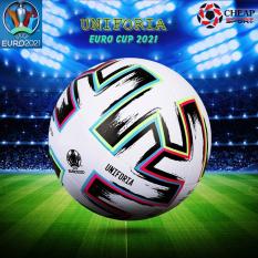 Quả Bóng Đá Uniforia Euro Cup 2021 Size 4 5 Phù Hợp Sân Cỏ Nhân Tạo Và Sân Cỏ Tự Nhiên (Bóng Đúc Da PU Cao Cấp)
