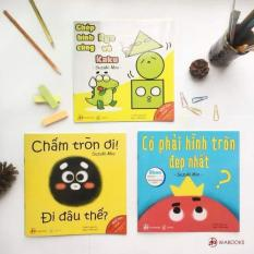 3 quyển Ehon Nhật Bản chủ đề Hình Khối ( Ehon Wabooks )
