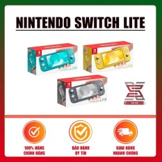 [Nhập ELJAN22 giảm 10% tối đa 200k đơn từ 99k]Máy Chơi Game Nintendo Switch Lite SXOS – Gray