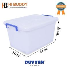 Thùng Nhựa Duy Tân Có Bánh Xe 15L (44 x 31 x 21 cm) No.749
