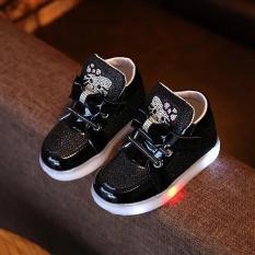 Giày có đèn led kitty cho bé gái