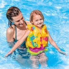 COMBO ĐI BIỂN CHO BÉ – Áo Phao Bơi Hình Thú + Kính Bơi Chống Nước
