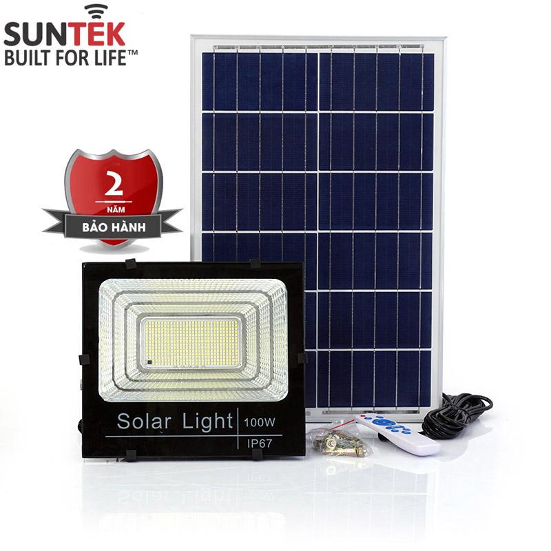 Đèn pha năng lượng mặt trời SUNTEK LED SOLAR 100W