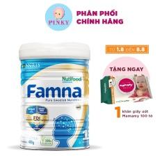Sữa bột Nutifood Famna Số 1 Hộp 400gr 100% Sản Xuất Từ Thụy Điển – Dành cho bé từ 0 đến 6 tháng tuổi