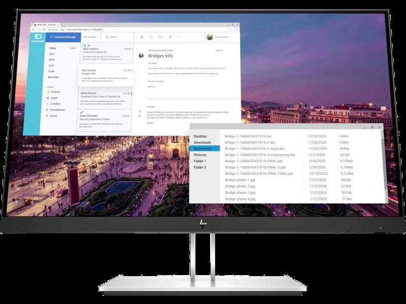 Màn hình vi tính HP E23 23 inch G4 FHD Monitor,3Y WTY/9VF96AA – Hàng chính hãng