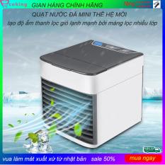 quạt nước đá mini ecoking ,có màng lọc khử mùi khử bụi diệt vi khuẩn siêu mạnh siêu mát,quạt nước nhỏ,quạt nước con cóc,quạt điều hòa
