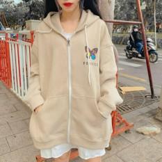 [FREESHIP] Áo hoodie, áo khoác hoodie Nỉ Nữ cực đẹp mềm mịn, chất thun nỉ bông thoáng mát in Hình Bướm (nón 2 lớp có dây kéo)