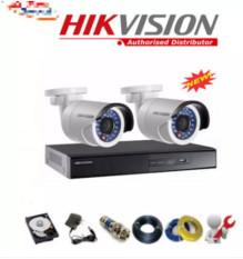 Combo 1 Đầu ghi Hikvision + 2 Camera 2.0M FullHD + HDD 500GB + Phụ kiện