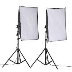 Bộ Đèn Studio Chụp Ảnh Sản Phẩm Chân Đèn 2m Kèm Softbox 50×70 Hỗ Trợ Sáng, Có Thể Mua Kèm Bóng 150W