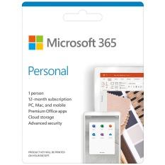Phần mềm Microsoft M365 Personal English APAC EM Subscr 1YR Medialess P6 (QQ2-00983) – Hàng chính hãng