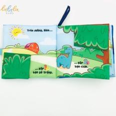 Sách vải LalalaBaby Hành trình của Dino