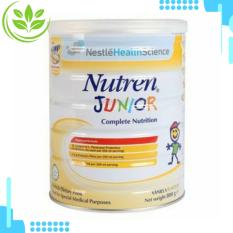Sữa Nutren junior giúp trẻ tăng cân, phát triển trí não, phù hợp trẻ từ 1 đến 10 tuổi lon 800g- HSD 2023