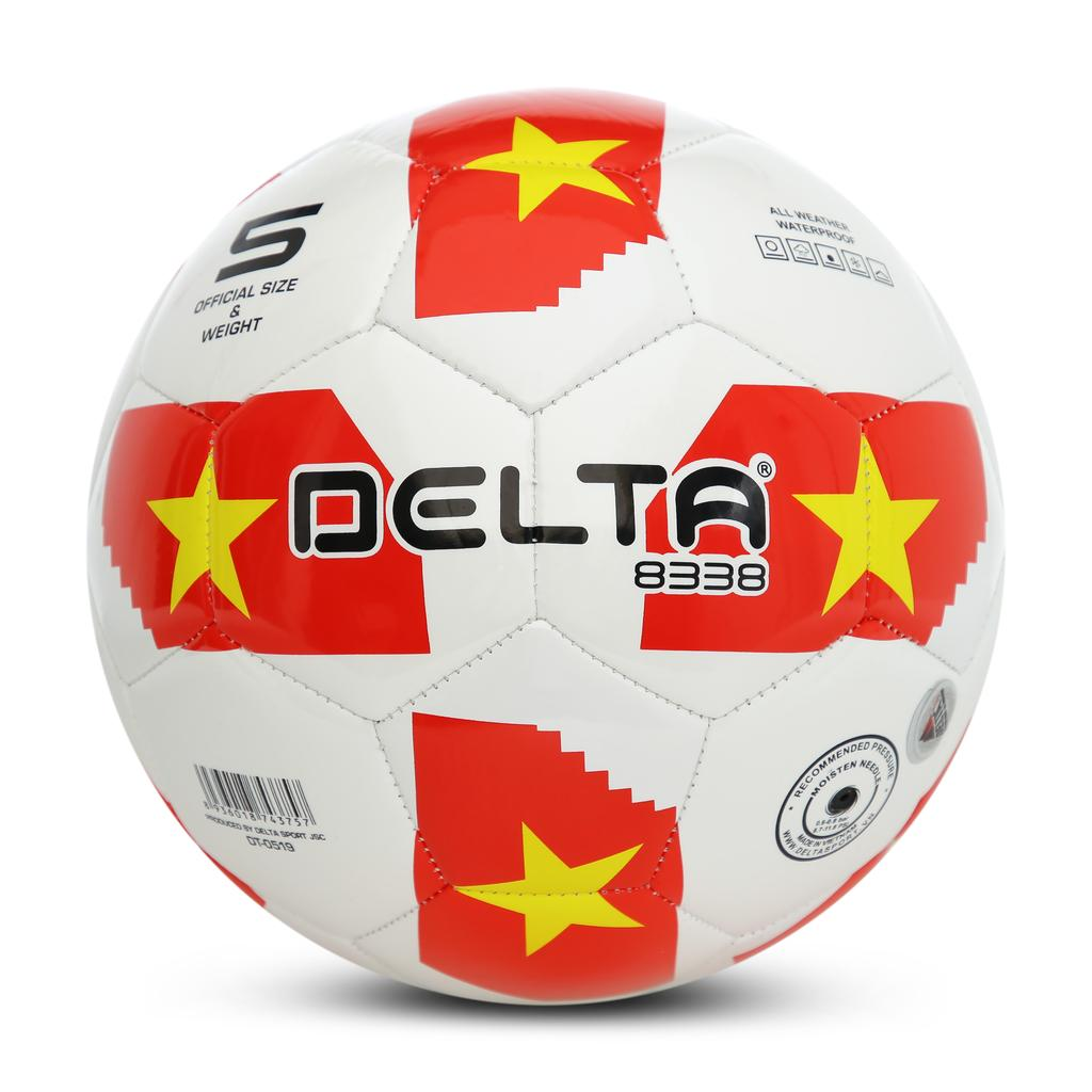 Bóng may máy 3818-4M - 4- Tặng kèm bộ kim bơm bóng và lưới đựng bóng.