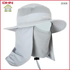 Mũ chống nắng tai bèo, nón chống nắng tai bèo chống tia UV + tặng kèm khăn trùm và khẩu trang