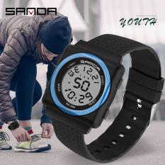 [SIÊU SALE] Đồng hồ Nữ Nam Unisex thể thao SANDA JAPAN, Kiểu Dáng Apple Watch, Thương hiệu Nhật, Siêu Chống Nước