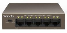 Switch TENDA TEF1105P 5-port 10100Mbps + 4-port PoE