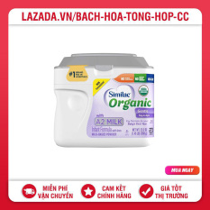 Sữa Bột Similac Organic With A2 Milk 658G Mỹ Dành Cho Trẻ Từ 0-1 Tuổi