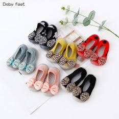 338# Giày bún nơ trẻ em cực xinh, chất liệu vải bún cực thoáng, nhiều màu
