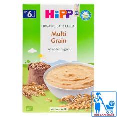 Bột Ăn Dặm Dinh Dưỡng HiPP Multi Grain (Ngũ Cốc Tổng Hợp) Hộp 200g (Cho trẻ từ 6 tháng tuổi)