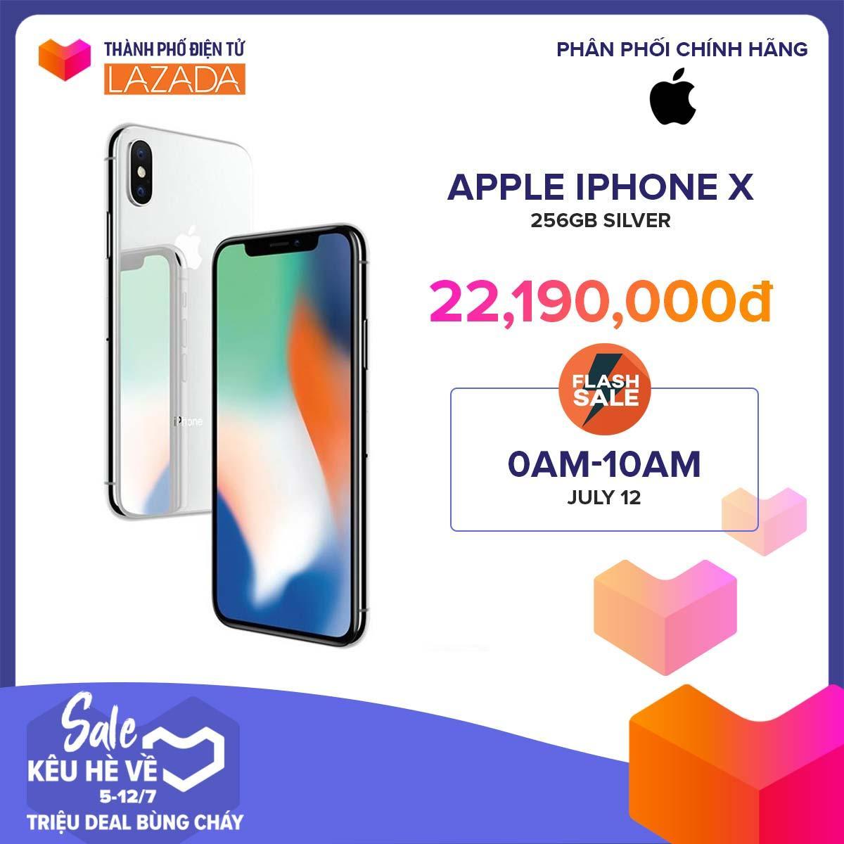Điện Thoại Apple iPhone X 256GB - Hàng Chính Hãng Mã VN/A