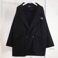 Áo khoác Blazer 1 và 2 lớp Đen/Be – Made by Fiin