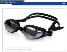 Kính bơi chống sương mù RH6100 dành cho người lớn, Kính chống chói có thể điều chỉnh nhiều màu sắc